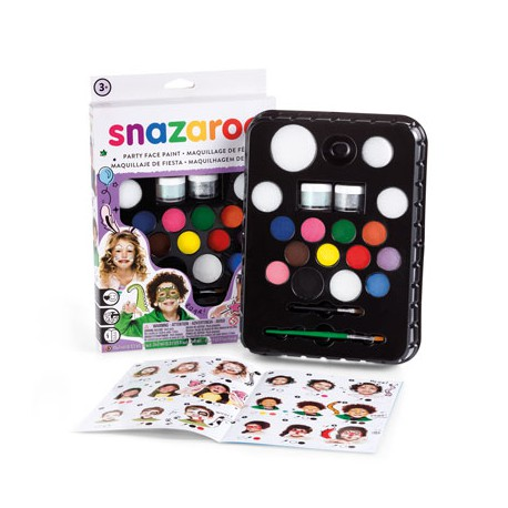 Snazaroo Colori Viso Kit Speciale Party